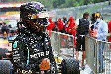 Formel 1, Hamilton feiert Regen-Pole: Weiß, wie gut ich bin