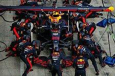 Formel 1: Boxenstopp-Meister Red Bull - Ferrari in Problemen