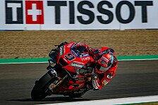 MotoGP Jerez: Petrucci nach Crash vor hartem Wochenende