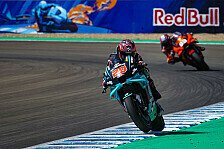 MotoGP Jerez: Quartararo holt Rundenrekord, Aufreger um Marquez