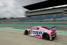 ADAC GT Masters testet auf dem Lausitzring