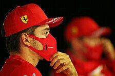 Ferrari Teamchef Binotto: Leclerc einfach schneller als Vettel