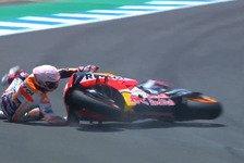 MotoGP Jerez 2020: Morbidelli in FP2 1., Marquez-Brüder stürzen