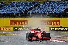 Formel 1 Ungarn, 2. Training: Vettel mit Bestzeit im Regen