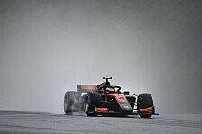 Formel 2 Ungarn: Illot sichert sich Pole in Regen-Qualifikation