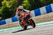MotoGP Jerez: Keine Strafe gegen Marc Marquez nach Rins-Aktion