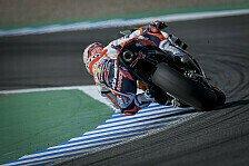 MotoGP Jerez: Marquez im Warmup voran, Crash von Crutchlow