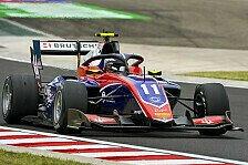 Formel 3 Budapest 2020: Beckmann-Sieg dank Viscaal-Strafen