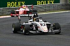 Formel 3 Budapest: Pourchaire dominiert nach chaotischem Start