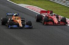 Formel 1, McLaren hinter RP & Ferrari: Erfolg trotz Rückschritt
