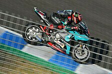 MotoGP Jerez 2020: Fabio Quartararo holt Warm-Up-Bestzeit