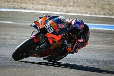 MotoGP Jerez 2021: Brad Binder holt Bestzeit in FP1