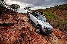 Neuer Land Rover Defender kehrt mit Goodyear Reifen zurück