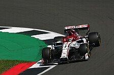 Formel 1 Silverstone: Räikkönen traut Alfa-Auferstehung nicht