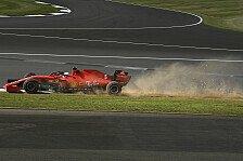 Formel 1 Silverstone, Vettel erlebt Fiasko-Freitag mit Ferrari