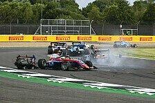 Formel 3 Silverstone: Heftiger Crash um Dunner, Beckmann-Punkte