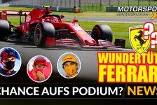 Formel 1 - Video: Formel 1 Silverstone: Ferrari mit Chancen aufs Podium?