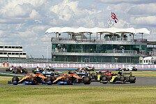 Formel 1, Silverstone-Wetter: Von Regen im Rennen keine Spur