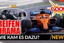 Formel 1 - Video: Formel 1: Was löste das Reifen-Drama in Silverstone aus?