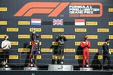 Formel 1 2020: Großbritannien GP - Podium