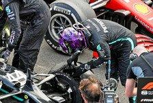 Formel 1 Silverstone, Hamilton: Sieg nach Überlebenskampf