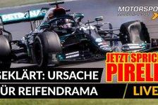 Formel 1 - Video: Formel 1: Pirelli erklärt Ursache für Reifenschäden
