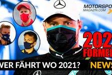 Formel 1 - Video: Formel 1: Neuer Vertrag für Bottas! Wer fährt 2021 wo?