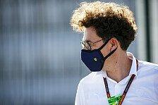 Binotto will nicht von Ferrari-Krise sprechen - oder Jobverlust