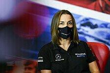 Formel 1 - Claire Williams: Neue Eigentümer wollten mich halten