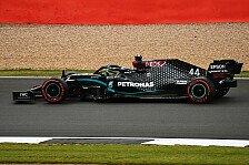 Formel 1 Silverstone II, 2. Training: Hamilton schlägt zurück