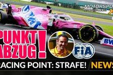Formel 1 - Video: Formel 1, Strafe erklärt: Punktabzug für Racing Point!