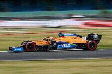 Formel 1 - McLaren fällt ab: Sainz läuft heiß, Norris am Limit
