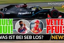 Formel 1 - Video: Formel 1: Hülkenberg hängt Vettel ab! Was ist bei Seb los?