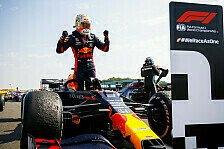 Formel 1, Verstappen: Dank Reifen-Poker zum Silverstone-Sieg