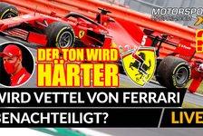 Formel 1 - Video: Formel 1: Wird Vettel von Ferrari benachteiligt?