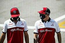 Formel 1 - Video: Formel 1, Kimi Räikkönen & Antonio Giovinazzi: Du oder ich?