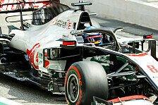 Formel 1, Haas-P5 schockt Romain Grosjean: Wo kam das denn her?