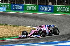 Formel 1 Barcelona: Perez zurück, aber Racing-Point-Pace weg?