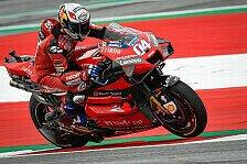 MotoGP Spielberg 2020: Andrea Dovizioso holt Warm-Up-Bestzeit