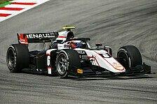 Formel 2, Testfahrten: Lundgaard dominiert Tag 1, Zendeli Top-5