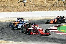 Formel 3 Barcelona, Rennen 2: Piastri siegt, Beckmann P9