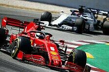 Formel 1 Barcelona: Vettel für Risiko-Stint auf Soft belohnt