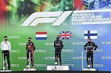Formel 1 2020: Spanien GP - Podium