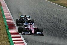 Formel 1 Barcelona - Perez verliert P4 durch Strafe: Unfair!