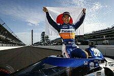 Indy 500 - Takuma Satos Sieg unter Gelb in der Ticker-Nachlese