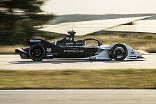 Formel E - Video: Formel E: Pascal Wehrleins erste Porsche-Testfahrt im Video