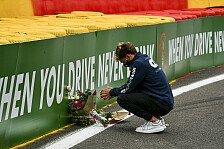 Formel 2 gedenkt in Spa Hubert: Nummer wird nicht mehr vergeben