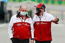 Alfa-Teamchef Vasseur im Interview: Kimi fährt im Simulator