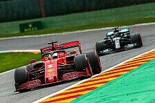 Formel 1 Spa, Qualifying-Generalprobe: Hamilton P1, Vettel P20