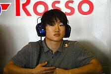 Formel 1: AlphaTauri bestätigt Test für Red-Bull-Talent Tsunoda